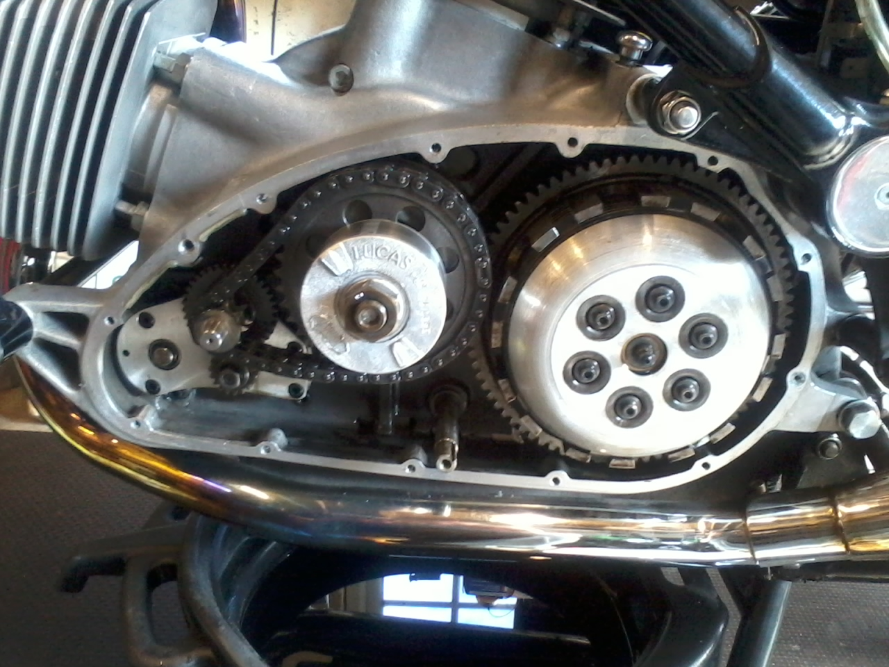 Hesketh Owners Club - Changing The Sprag